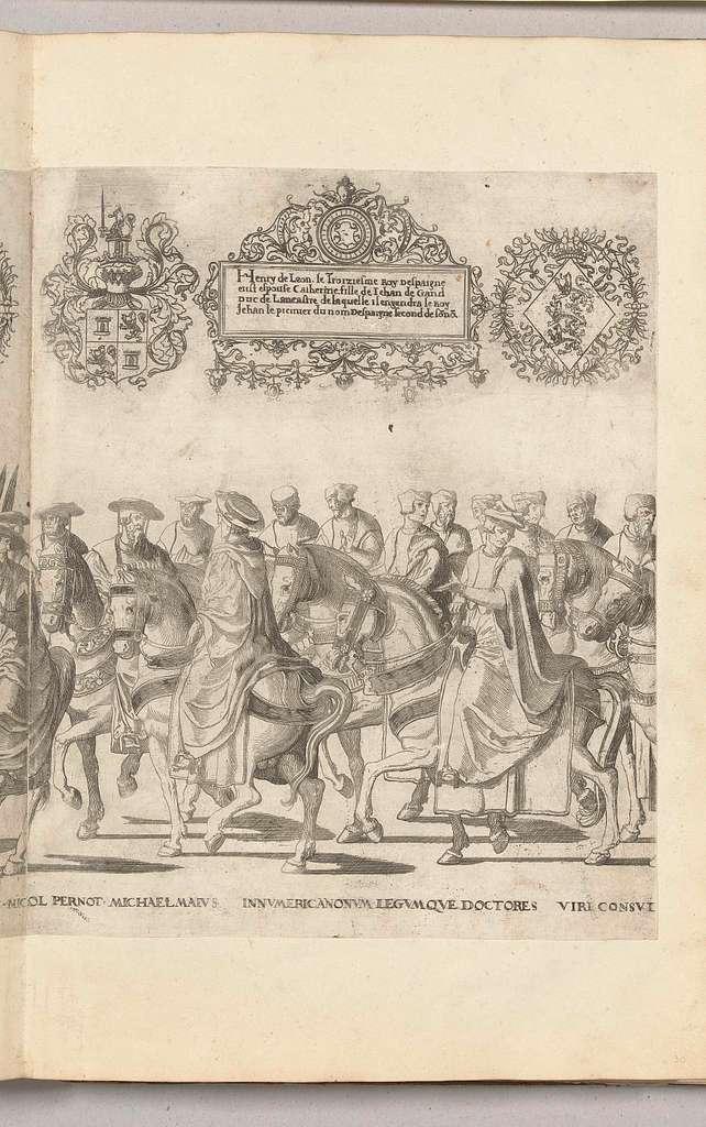 Kerkgeleerden waaronder Nicolas Perrenot de Granvelle en Michele Maio, plaat [GG]
