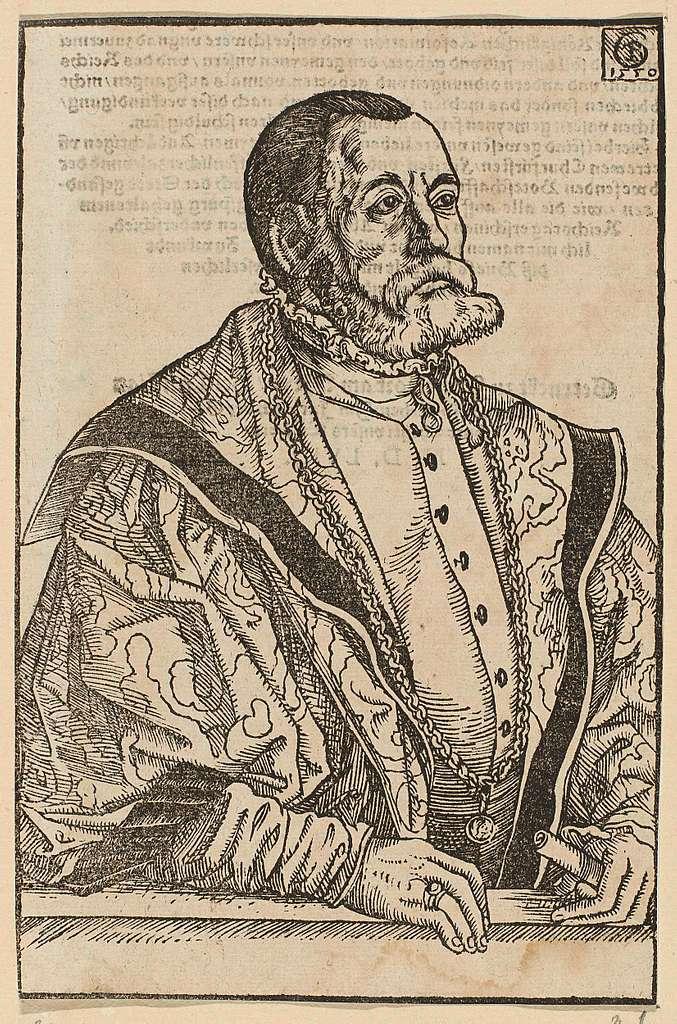 Portret van Justinus Göbler