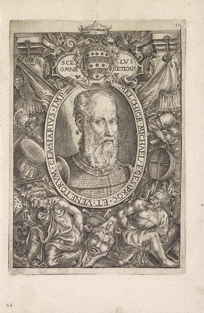 Portret van Melchior Michiel, admiraal van de Venetiaanse vloot
