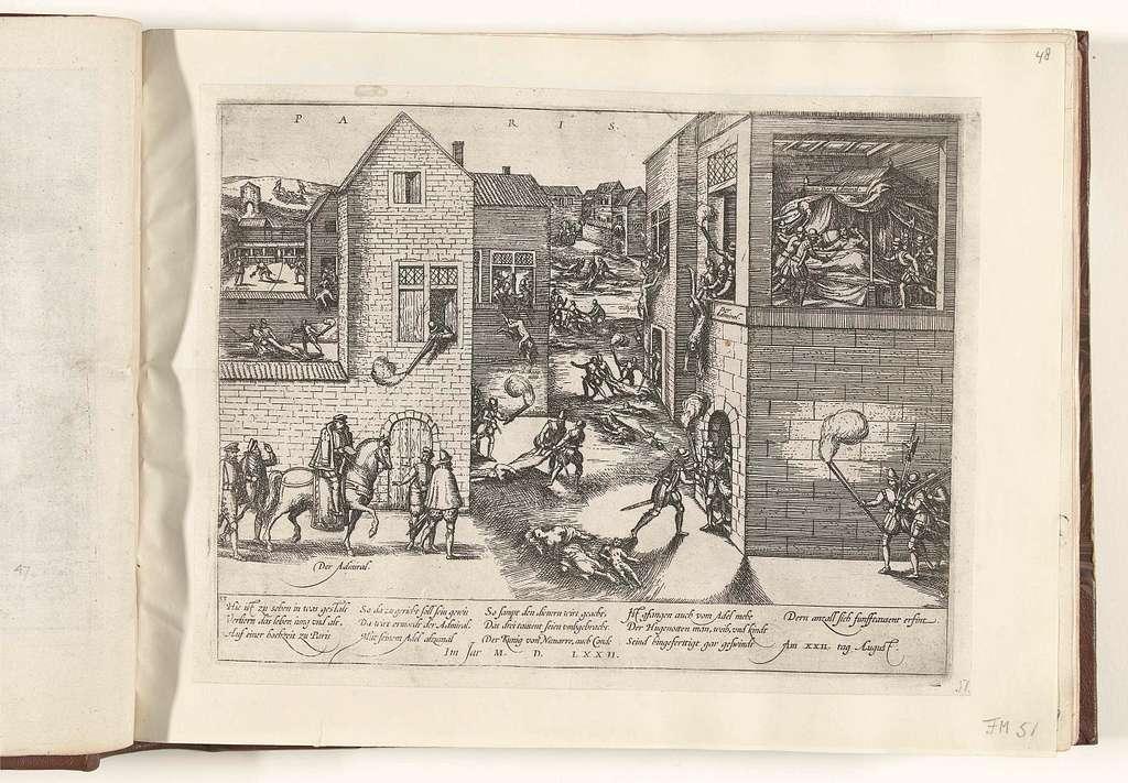 Moord in de Bartholomeüsnacht, 1572