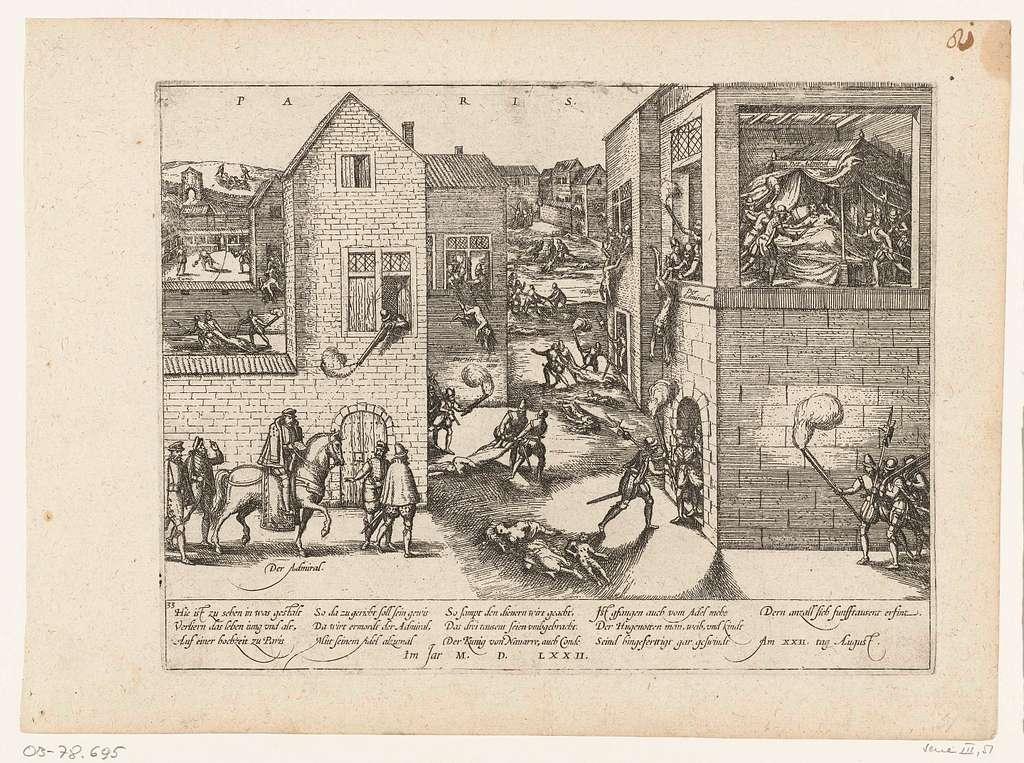 Moord tijdens de Bartholomeüsnacht, 1572