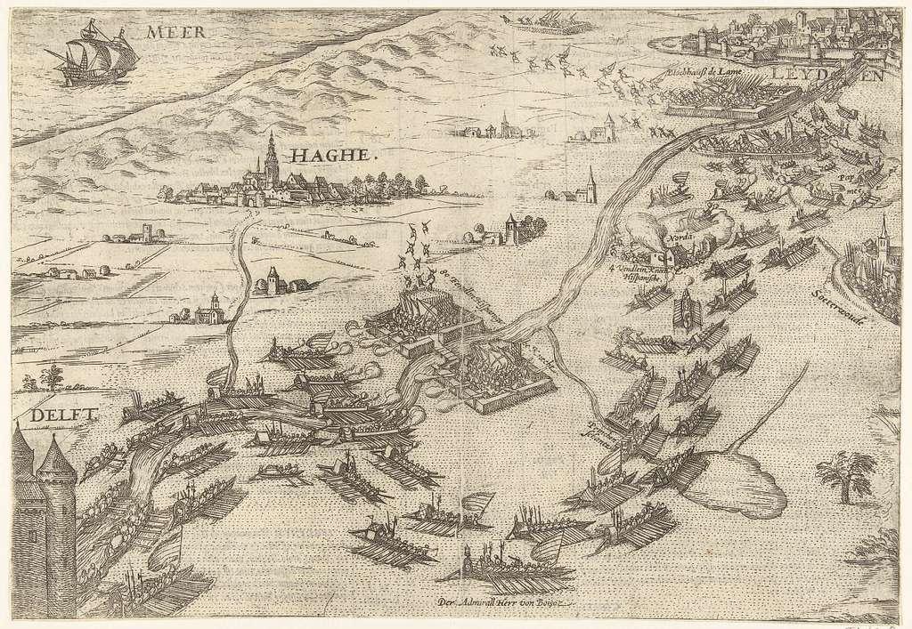 Ontzet van Leiden, 1574
