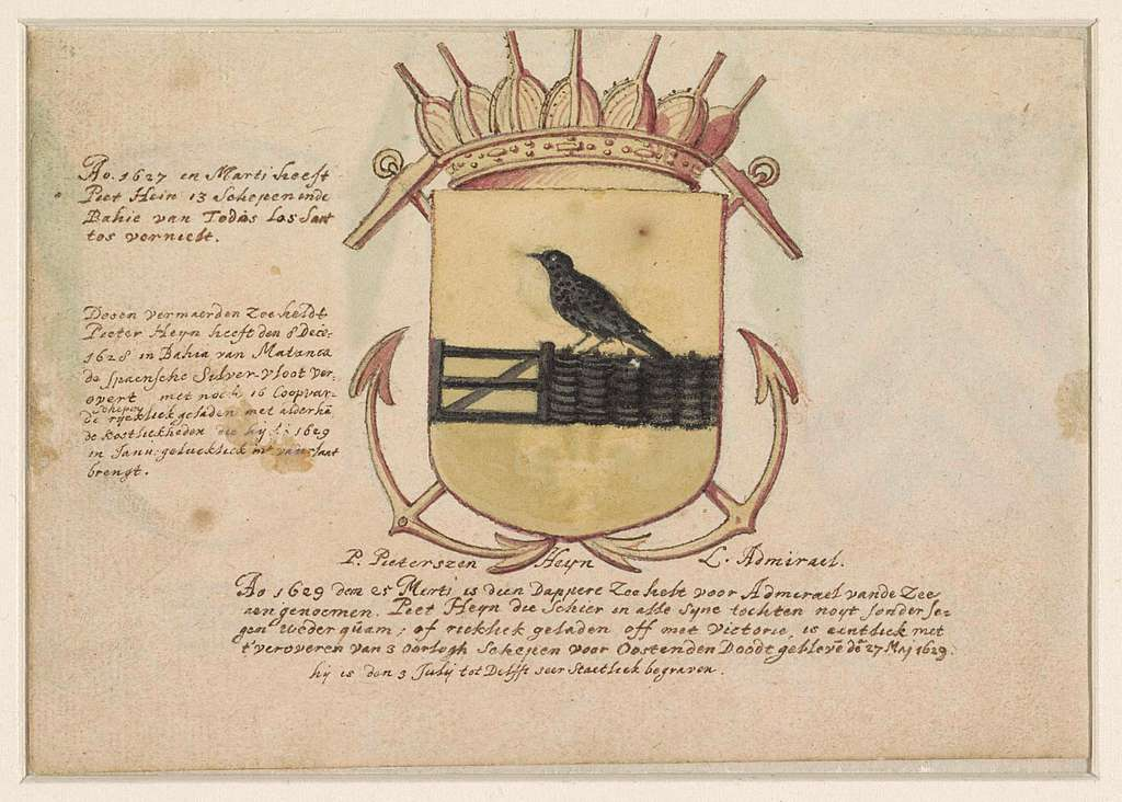 Wapen van admiraal Jacob Willekens