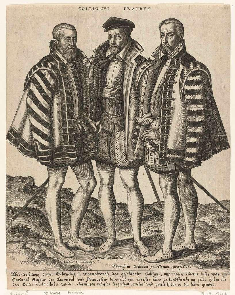 Portret van de gebroeders Coligny