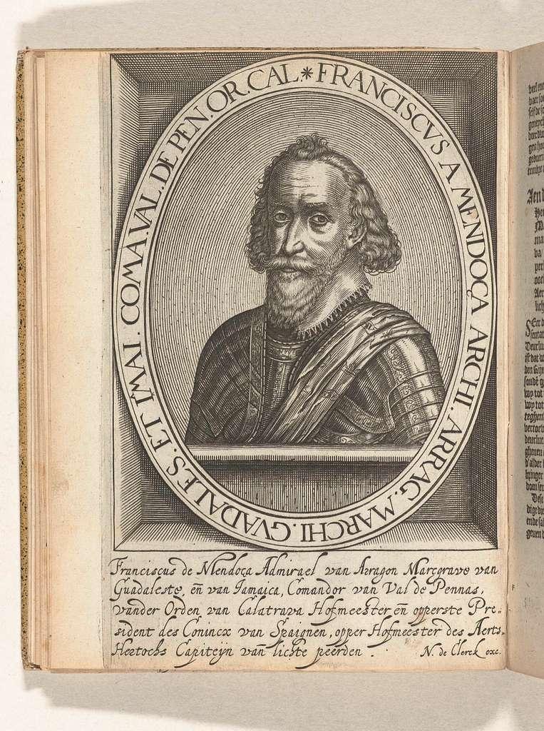 Portret van Francisco de Mendoza, 1599