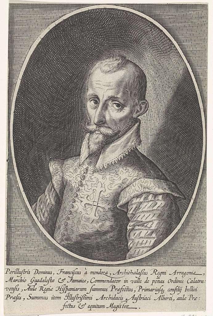 Portret Francisco Hurtado de Mendoza