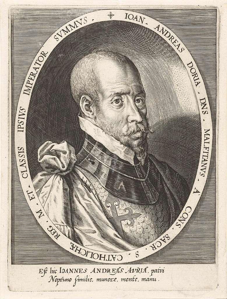 Portret van admiraal Giovanni Andrea Doria