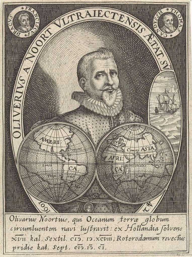 Portret van Olivier van Noort