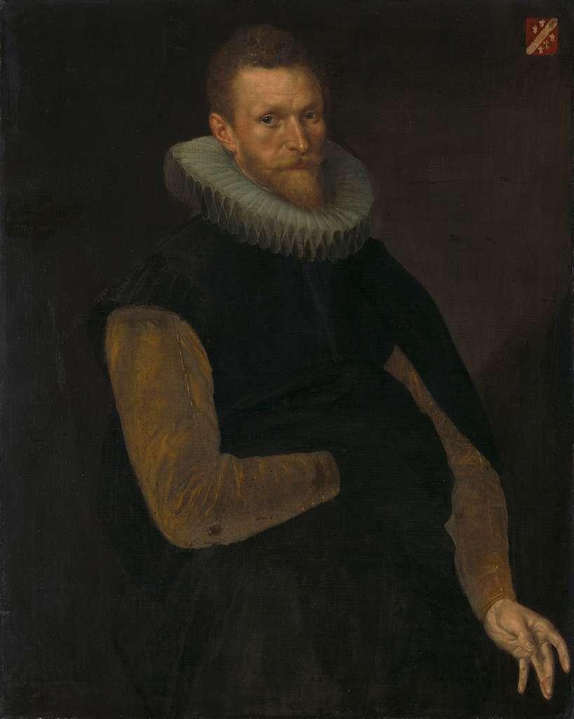 Jacob Cornelisz Banjaert, called van Neck (1564-1638), Admiral, Burgomaster and Councilor of Amsterdam