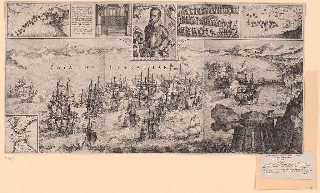 De slag bij Gibraltar, 1607
