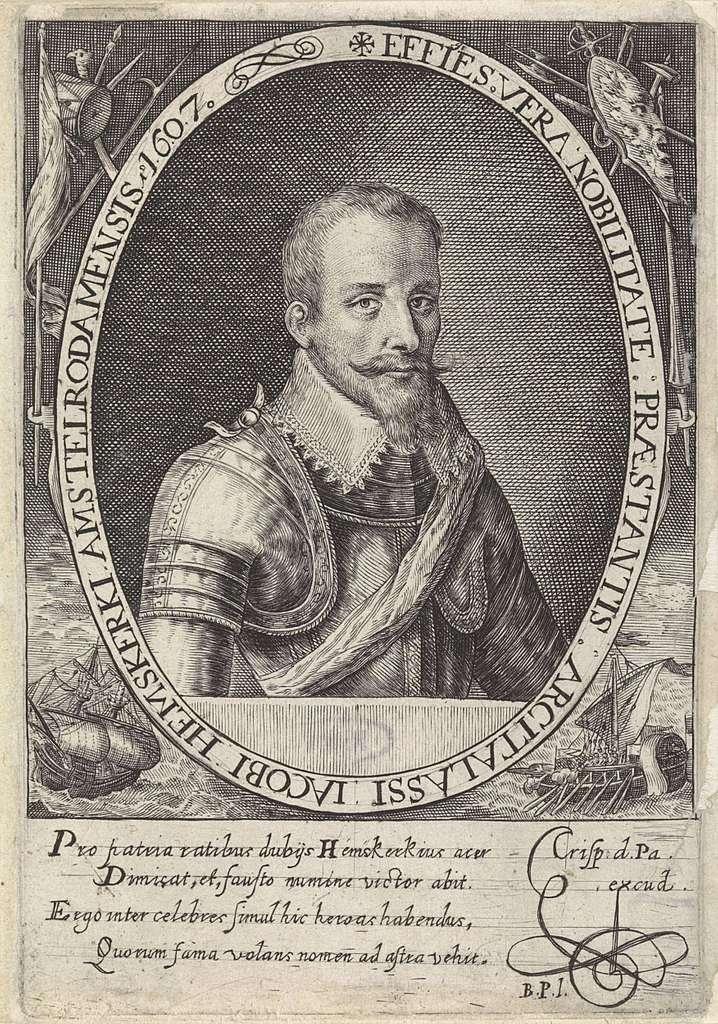 Portret van Jacob van Heemskerck
