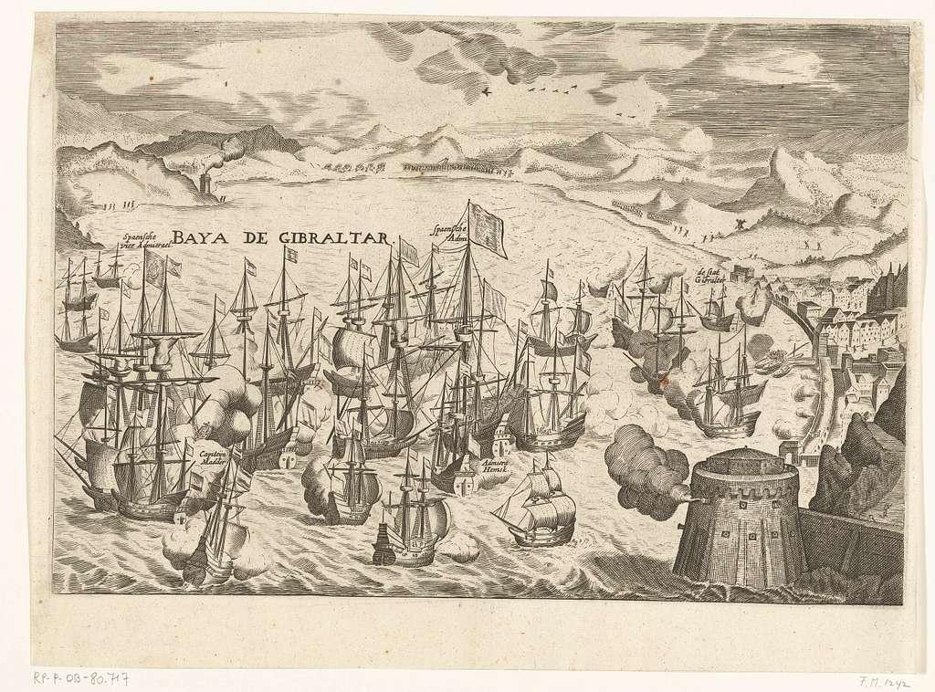 Zeeslag voor Gibraltar, 1607