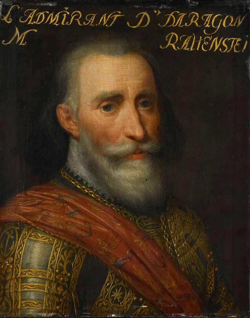 Portrait of Francisco Hurtado de Mendoza, Admiral of Aragon