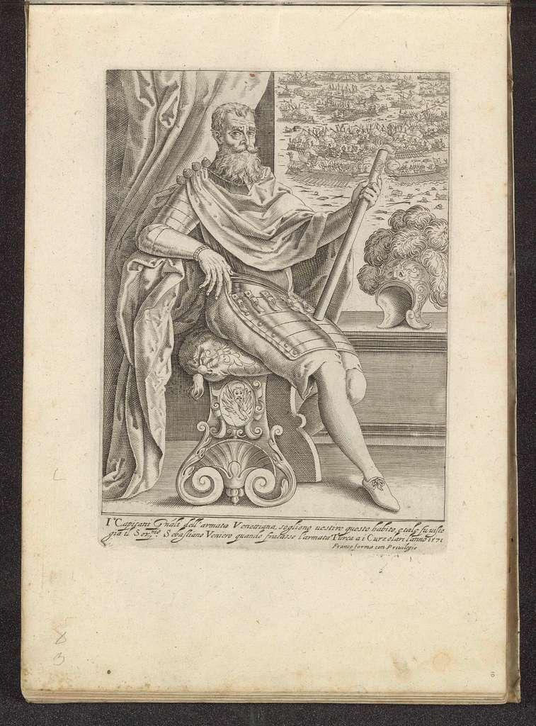 Admiraal Sebastiano Vernier en de Slag bij Lepanto