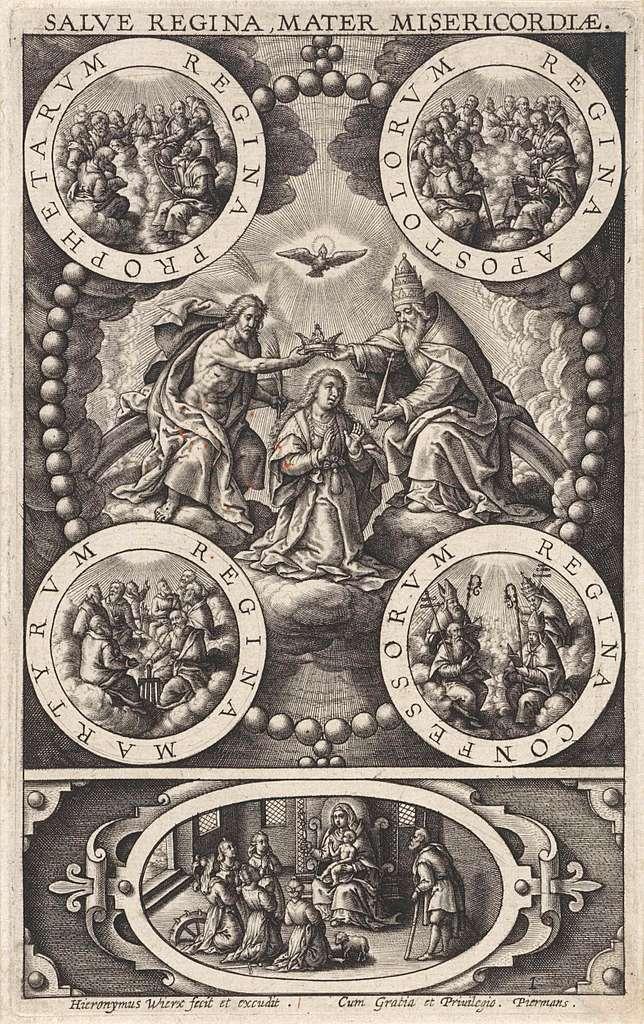 Kroning van Maria
