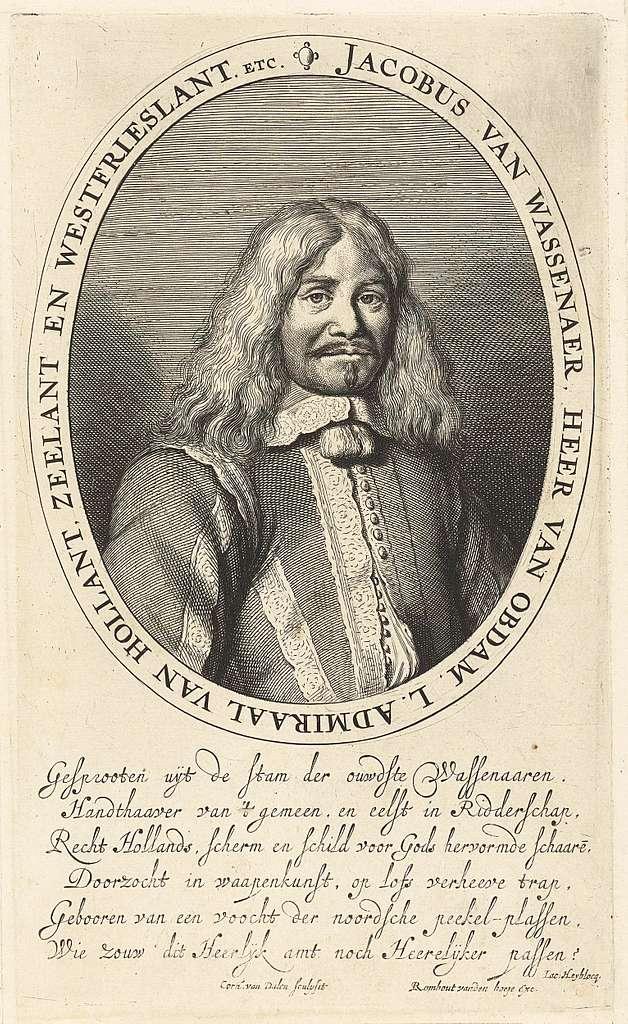 Portret van Jacob, baron van Wassenaer, heer van Obdam