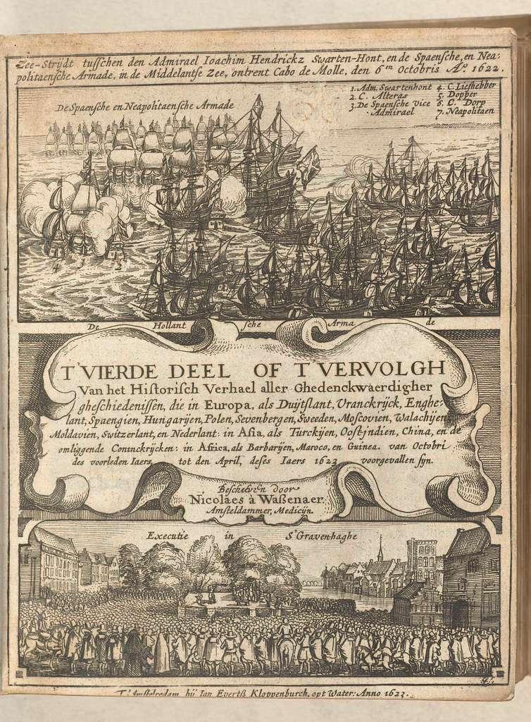 Titelblad van Historisch verhael, band 2 (dl. 4), 1622-1623