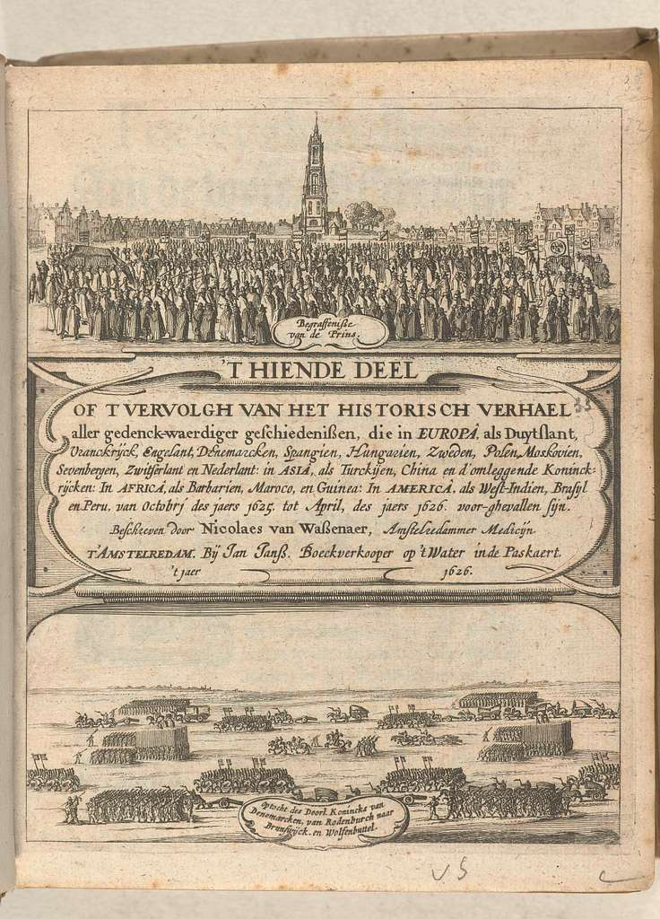 Titelblad van Historisch verhael, band 4 (dl. 10), 1625-1626