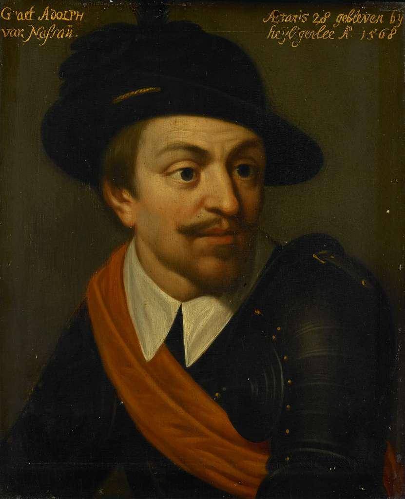 Portrait of Adolf, Count of Nassau
