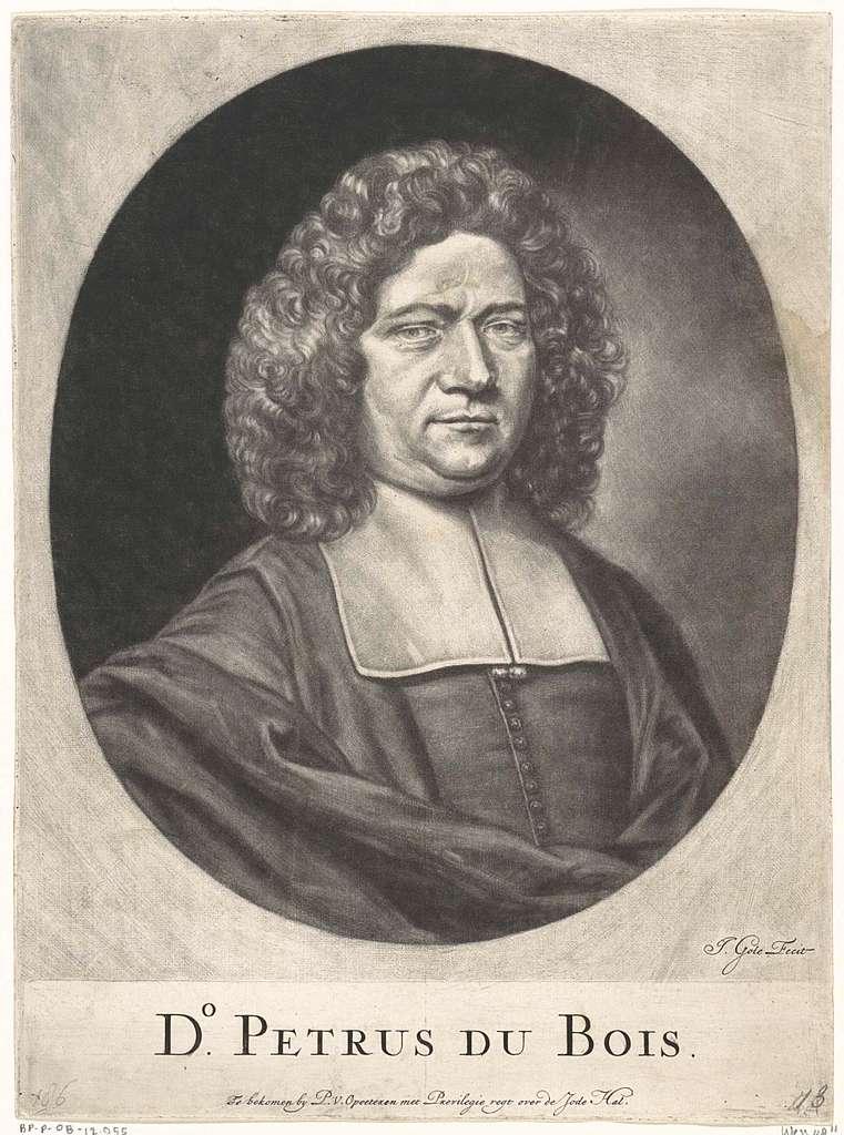 Portret van Petrus Dubois