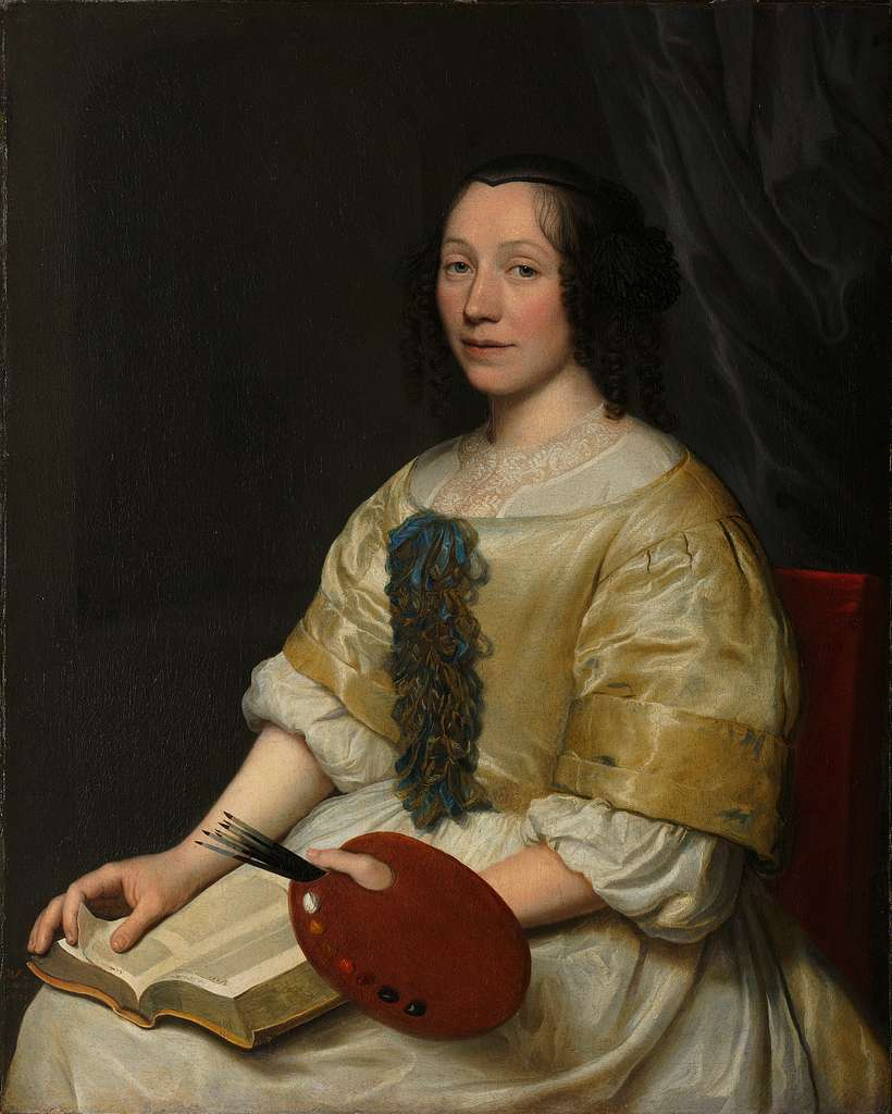 Maria van Oosterwijck (1630-93). Flower painter