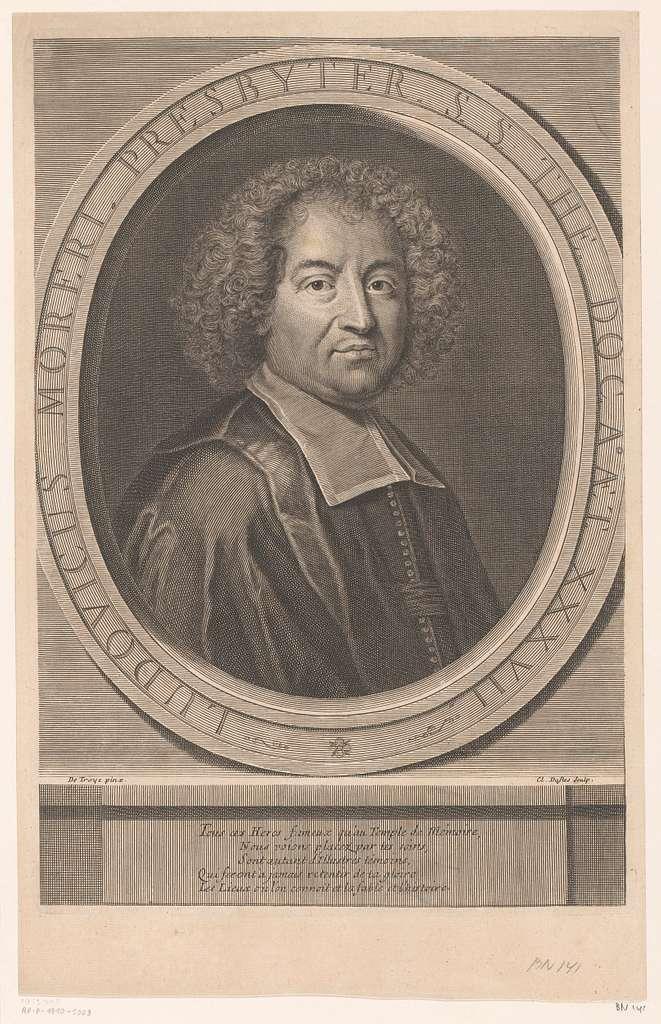 Portret van Louis Moréri
