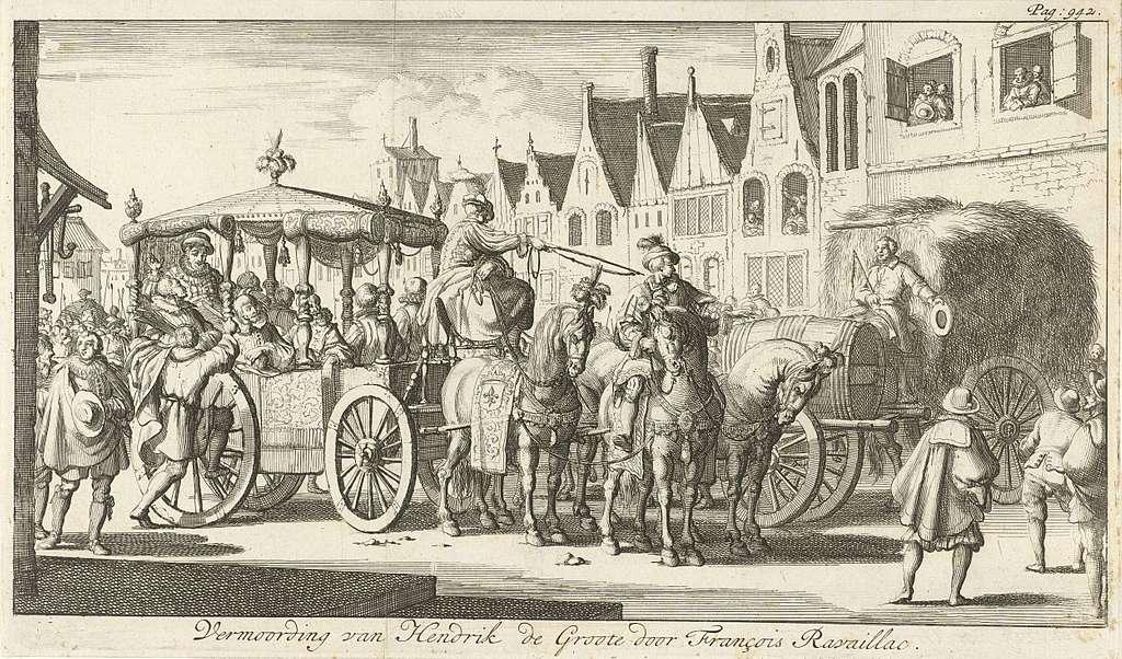Moord op Hendrik IV, 1610