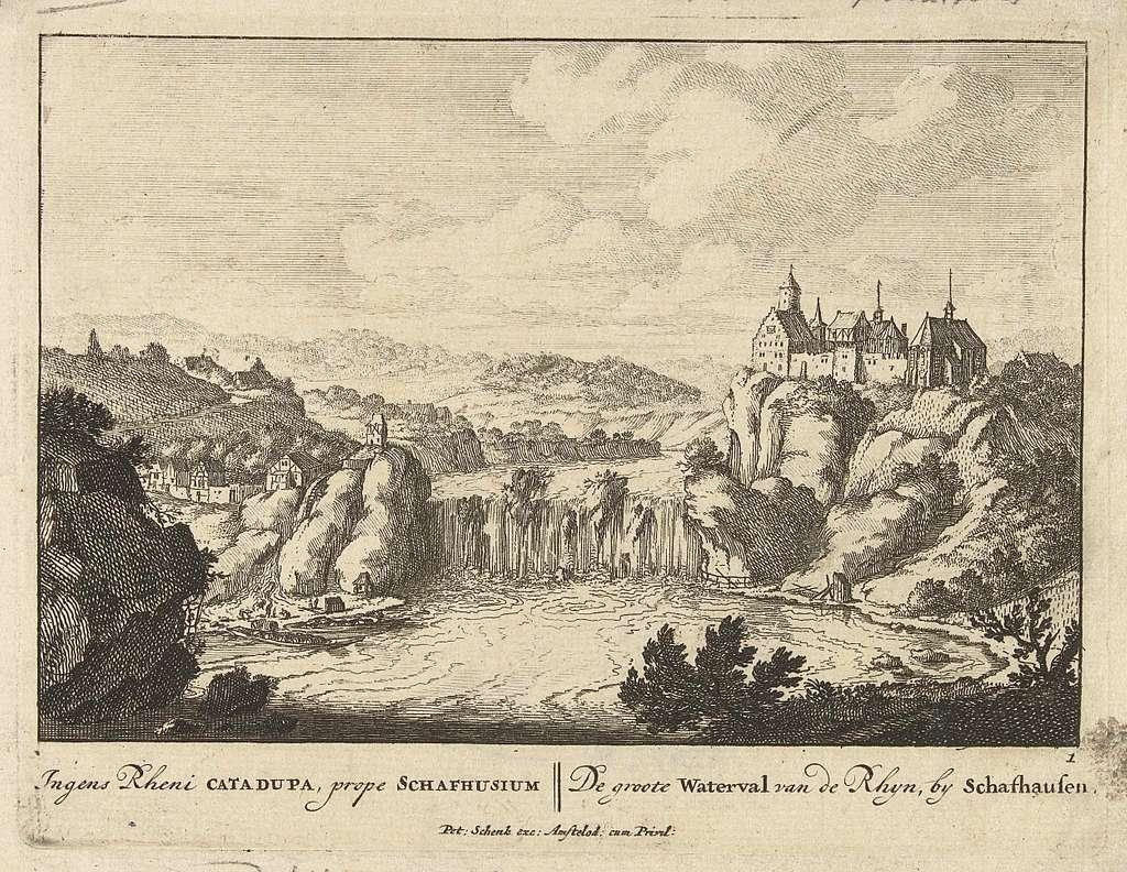 Rheinfall bij Schaffhausen