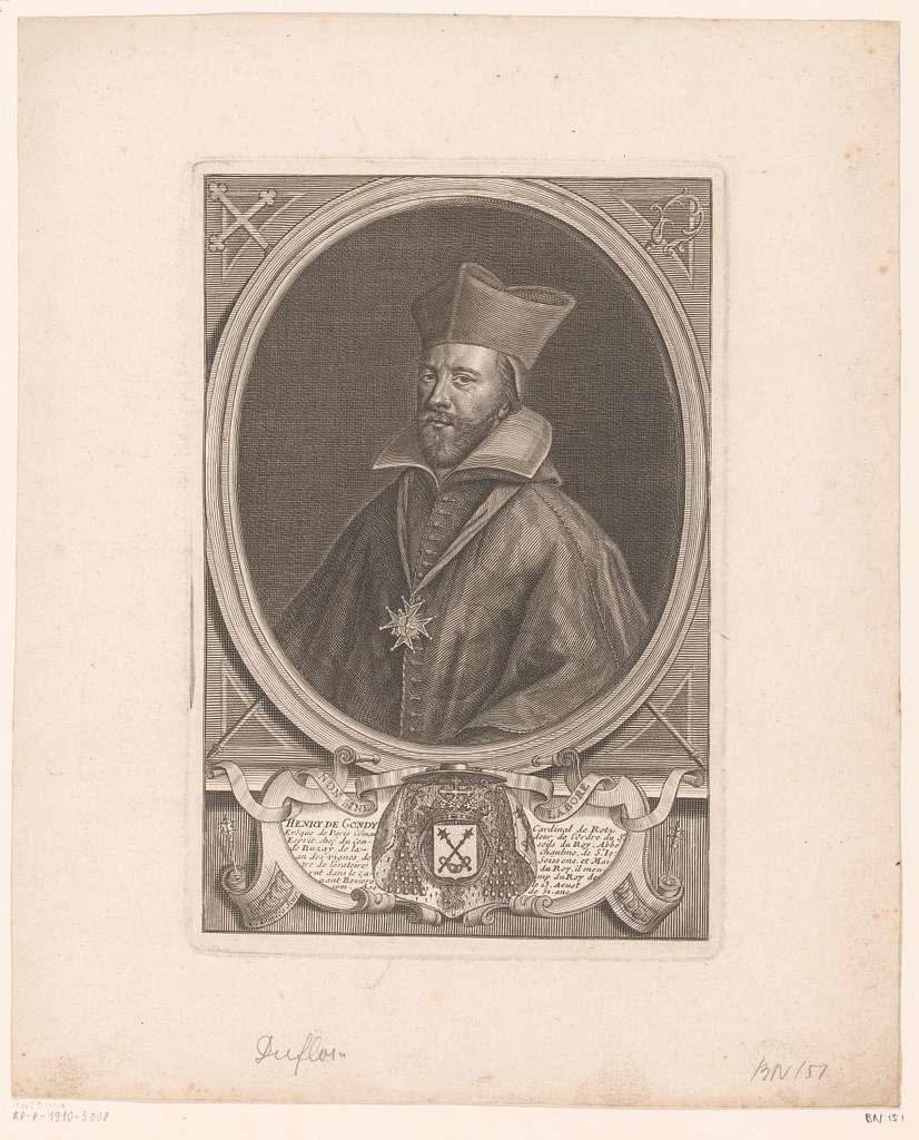 Portret van Henri de Gondi