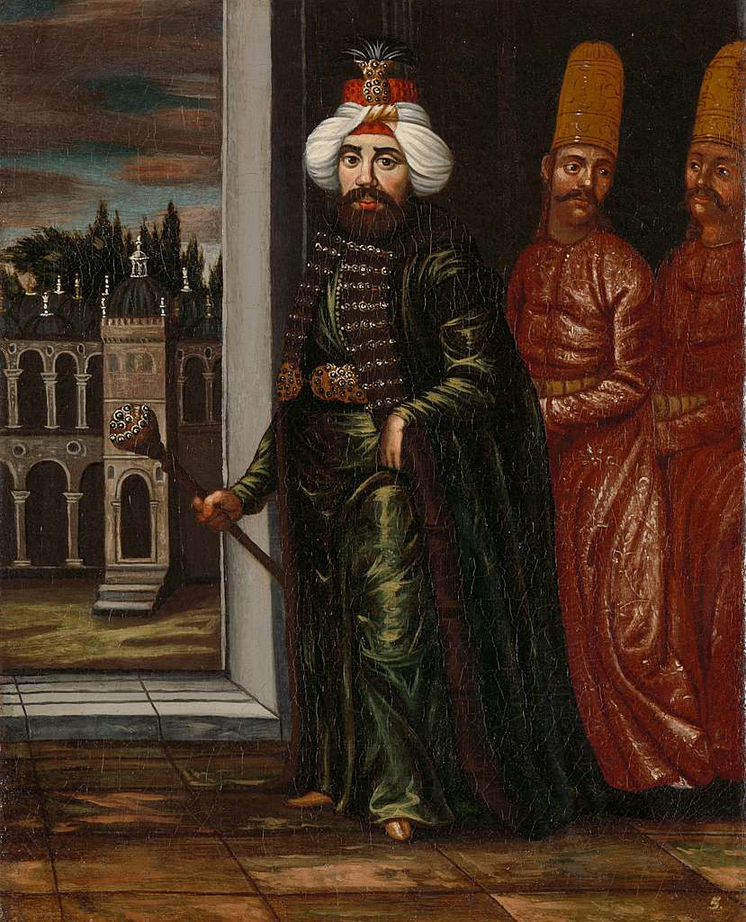 Portrait of Sultan Ahmed III