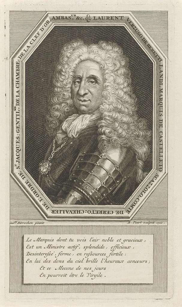 Portret van Lorenzo di Vergiuso, markies van Beretti-Landi