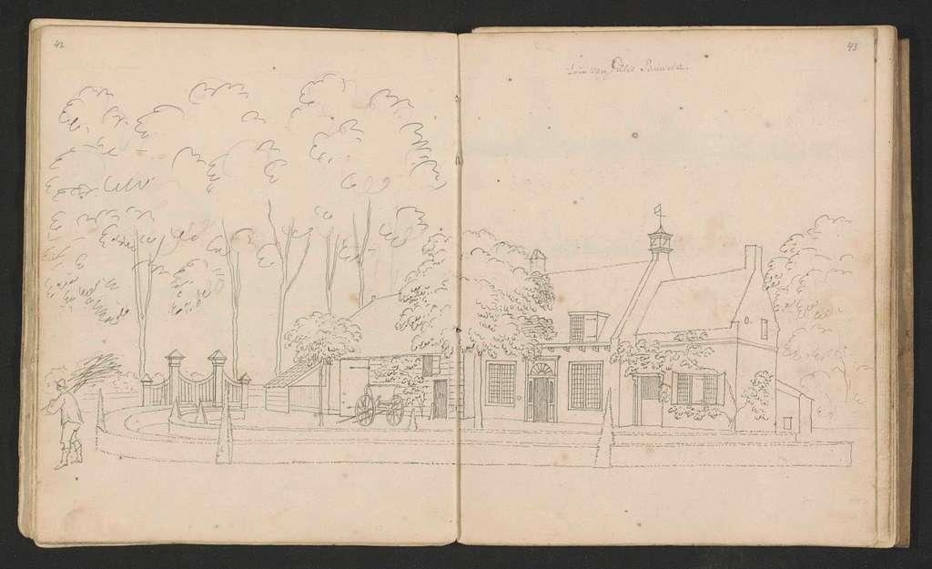 Huis en tuin van Gillis Pauwelsz