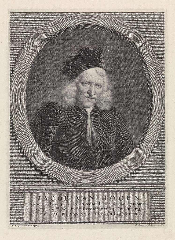 Portret van Jacob Hoorn
