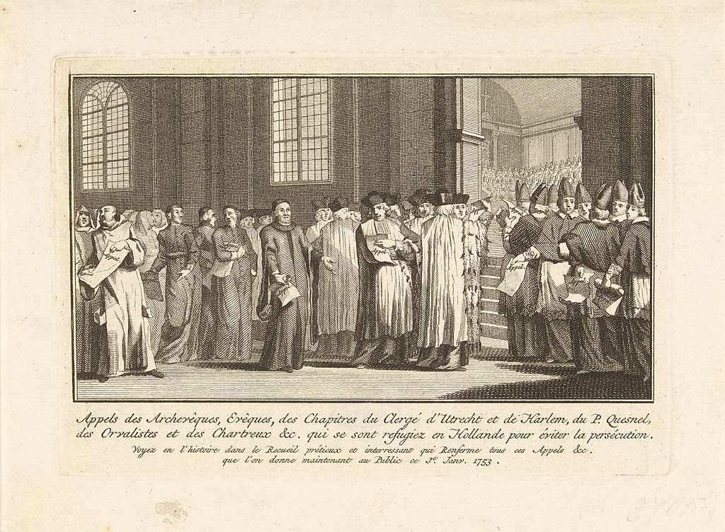 Het appèl van de jansenisten, ca. 1723