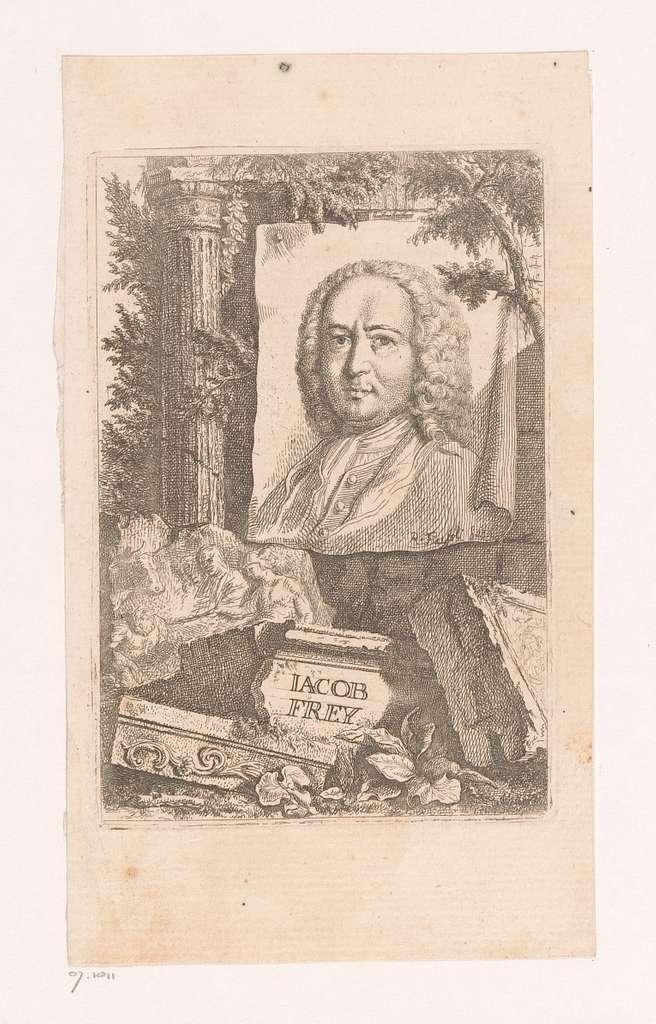 Portret van Jacob Frey