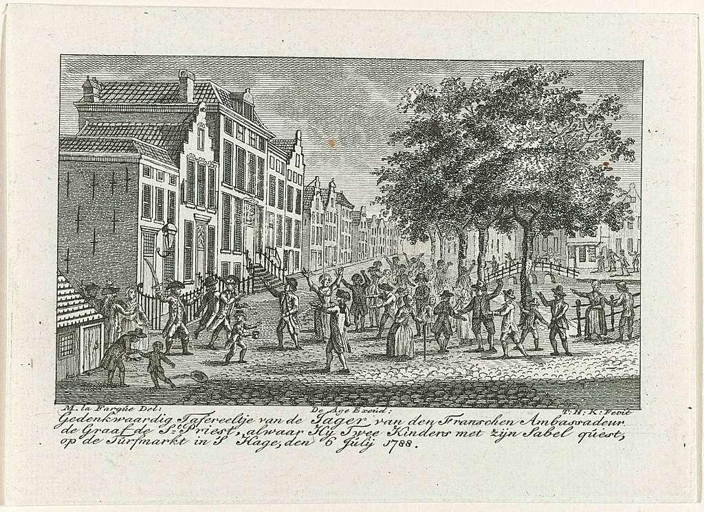 Incident met de jager van de Franse ambassadeur, 1788
