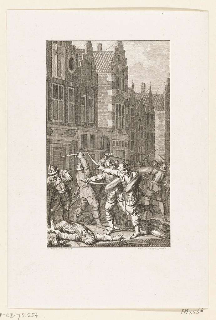 Willem van Arkel sneuvelt te Gorinchem, 1417