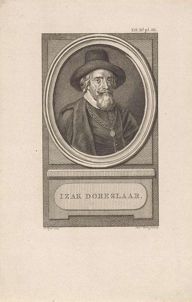 Portret van Isaäc Doreslaer