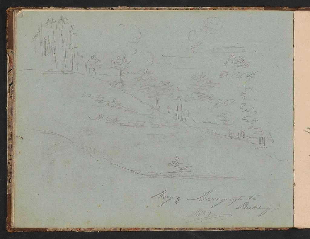Bos- en berglandschap te Beekhuizen