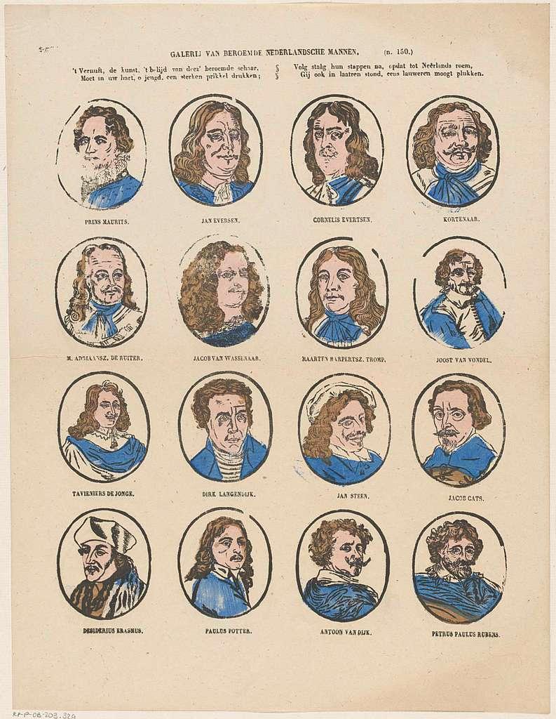 Galerij van beroemde Nederlandsche mannen