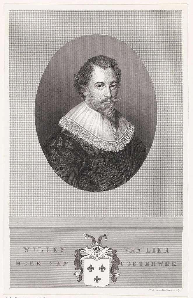 Portret van Willem van Lier