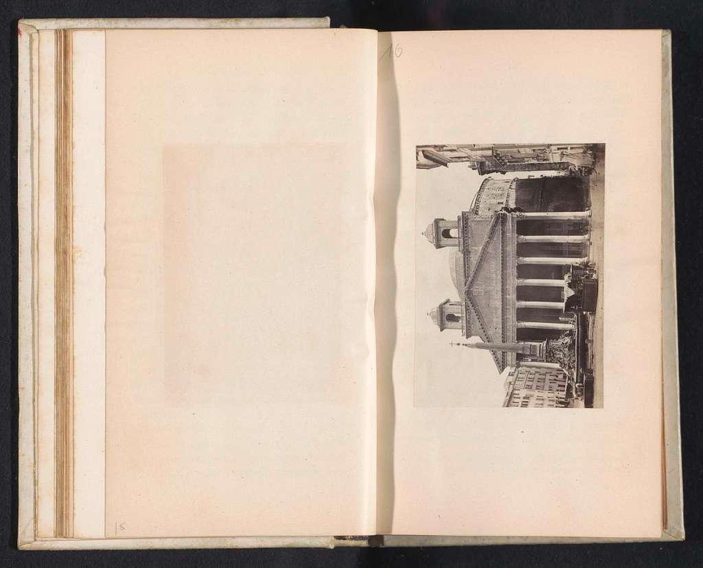 Exterieur van het Pantheon te Rome