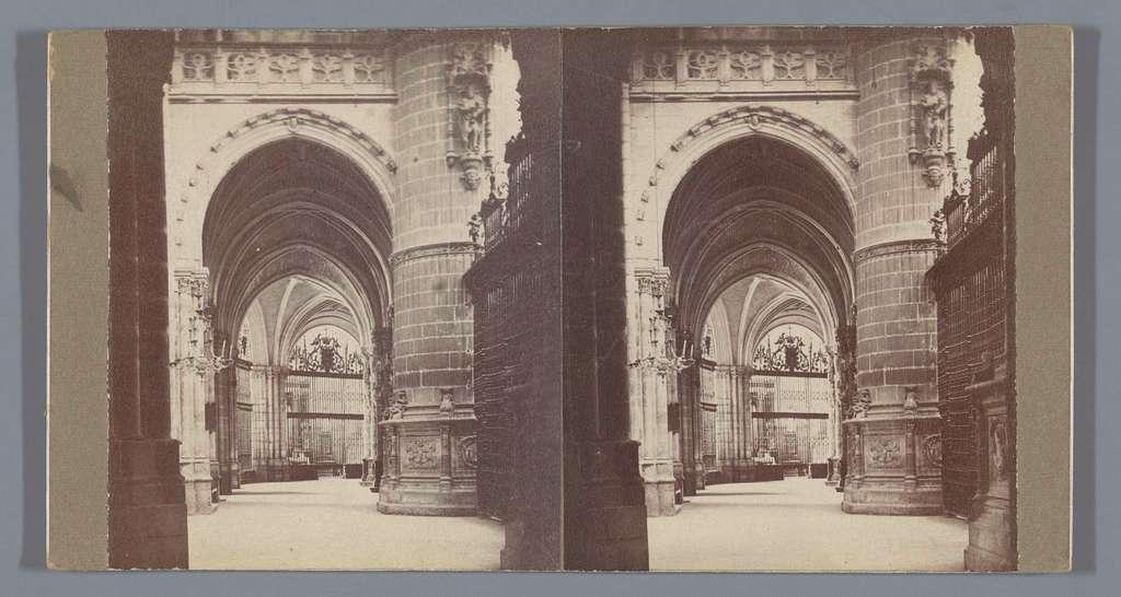 Interieur van de Kathedraal van Burgos