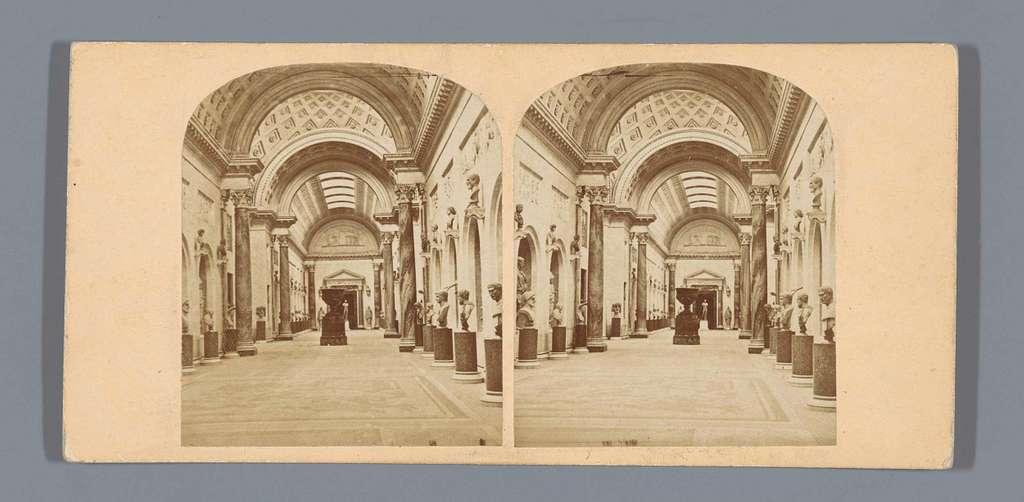 Interieur van de Vaticaanse Musea te Vaticaanstad