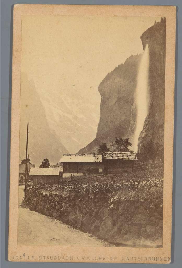 Staubbachwaterval in het Lauterbrunnental
