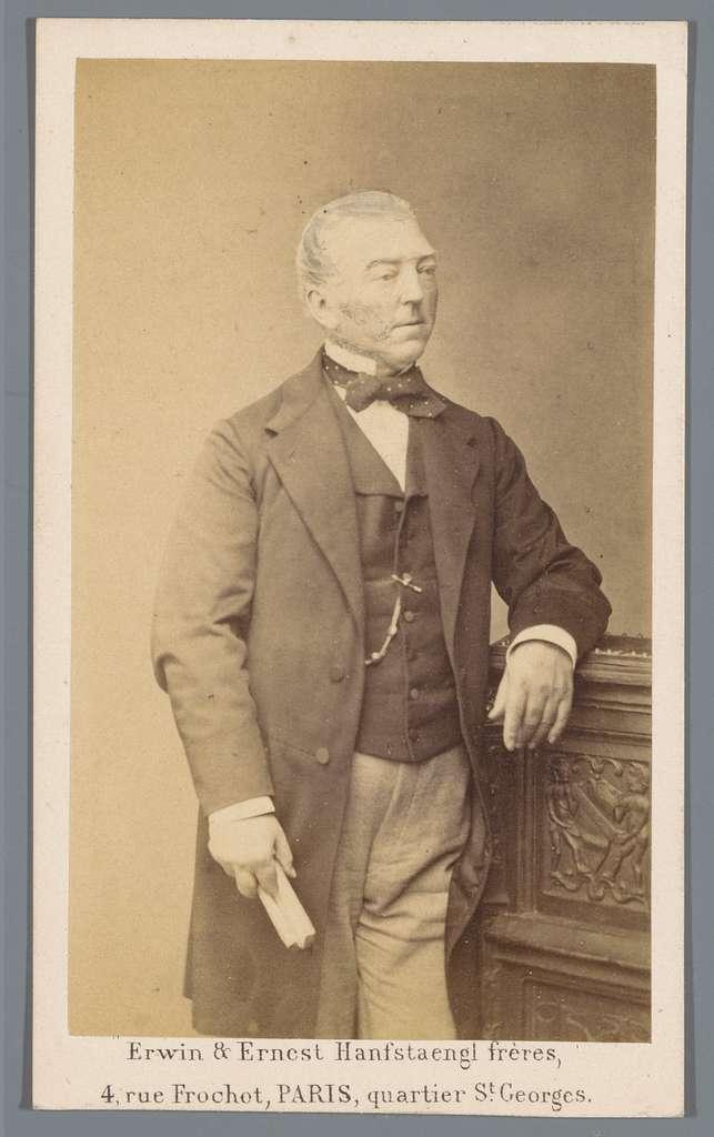 Portret van een onbekende man, aangeduid als Amédée Duparc