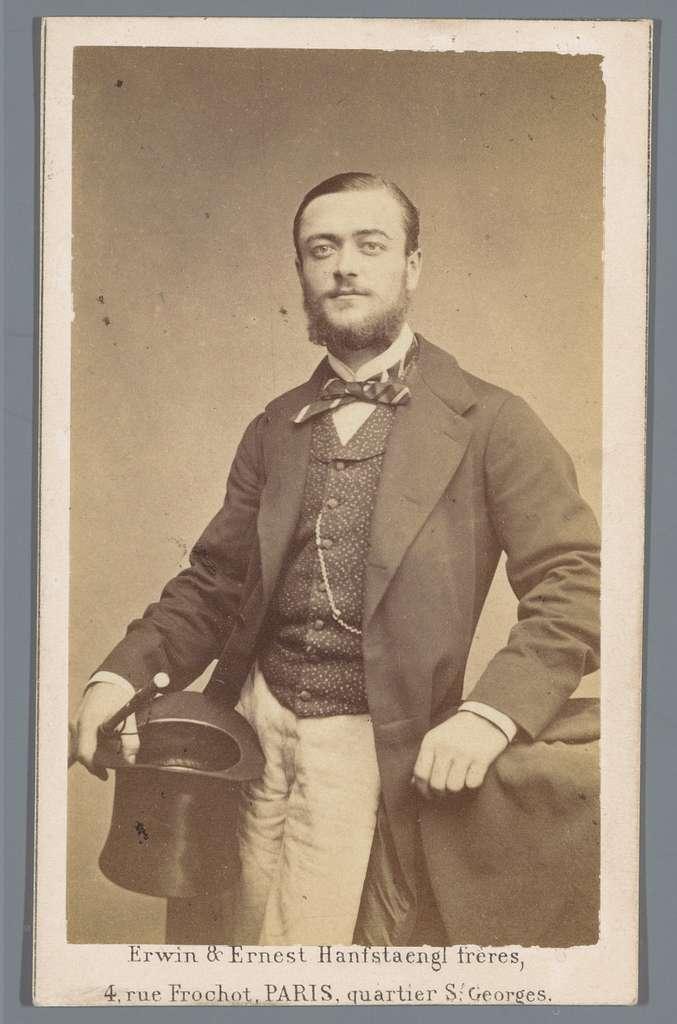 Portret van een onbekende man, aangeduid als Georges Duparc