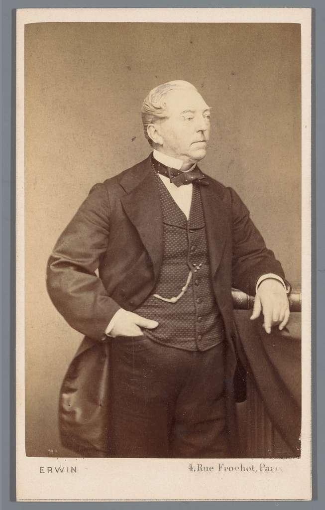 Portret van een onbekende man, aangeduid als oom Amédée Duparc