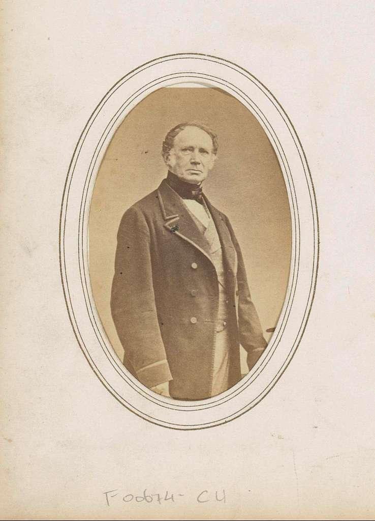 Portret van Frederik, prins der Nederlanden, in burgerkledij