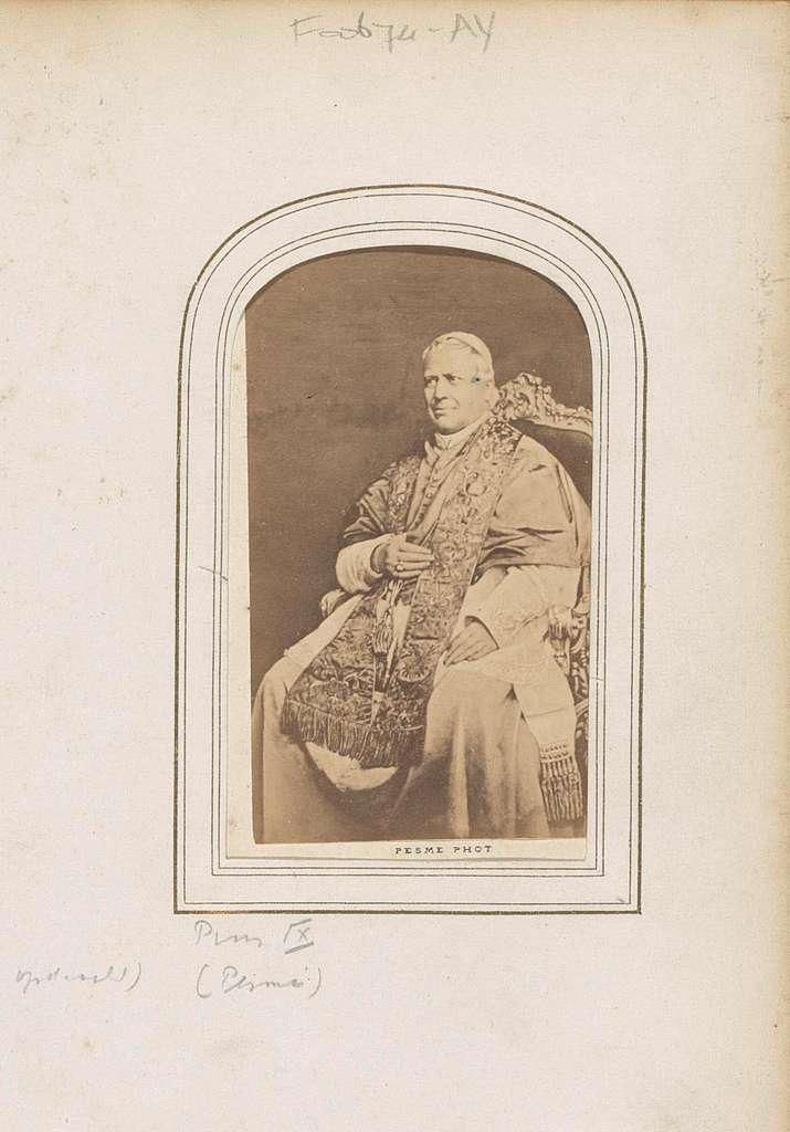 Portret van paus Pius IX